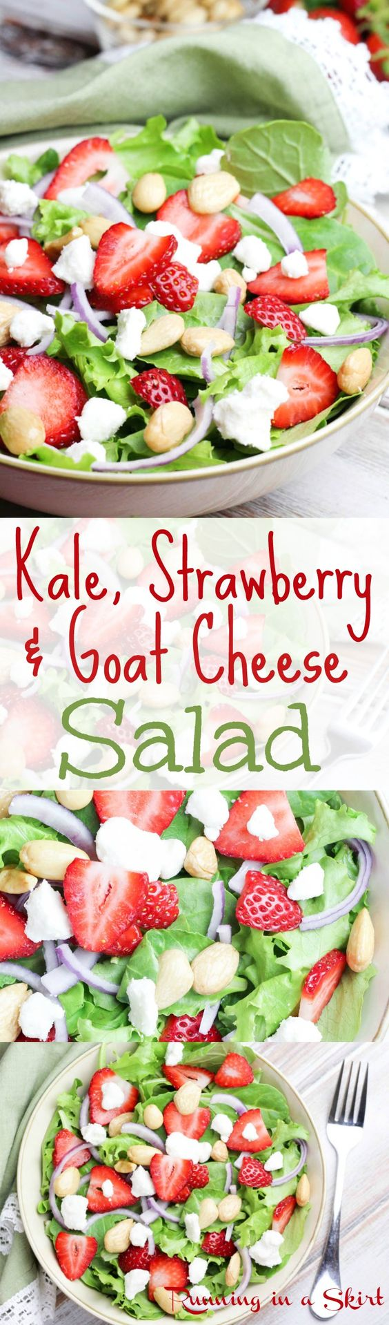 ... strawberries kale salad recipes cheese recipes with goat cheese a