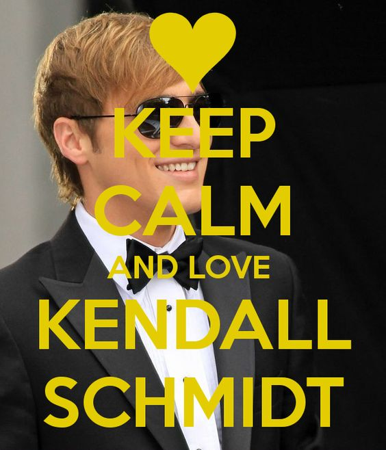 KEEP CALM AND LOVE  KENDALL SCHMIDT