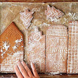 Step by step Gingerbread village.