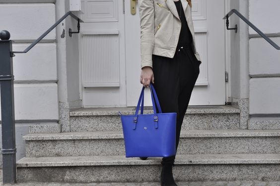 PRIDE in blue. We love! #beliya #ecofashion #handbag