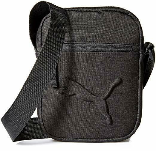 PUMA Men's Reformation Cross Body Bag Textile Shoulder Bag