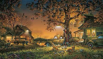 Terry Avon Redlin (nacido 11 de julio de 1937 en EEUU. Pintor de temas de fauna al aire libre.
