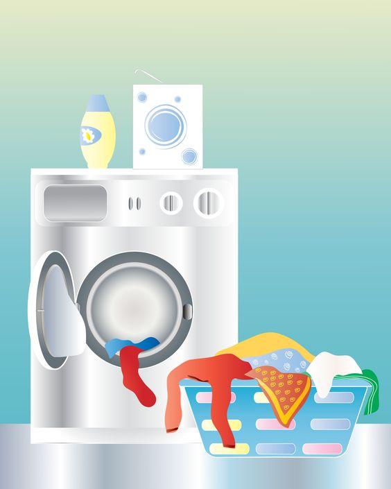 Kopje schoonmaakazijn met een handje soda in een lege machine en een was laten draaien (zonder was!). Wallaaaa, schone machine!: