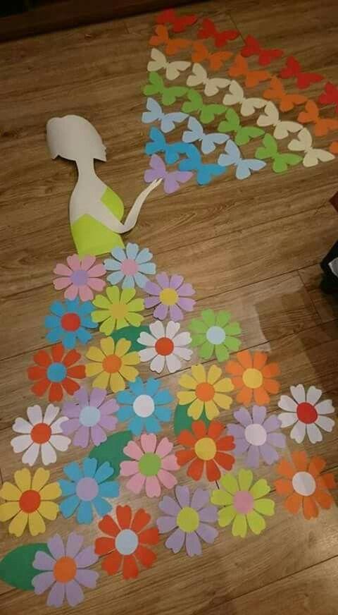 Wiosna Handmade Crafts Crafts Spring Diy