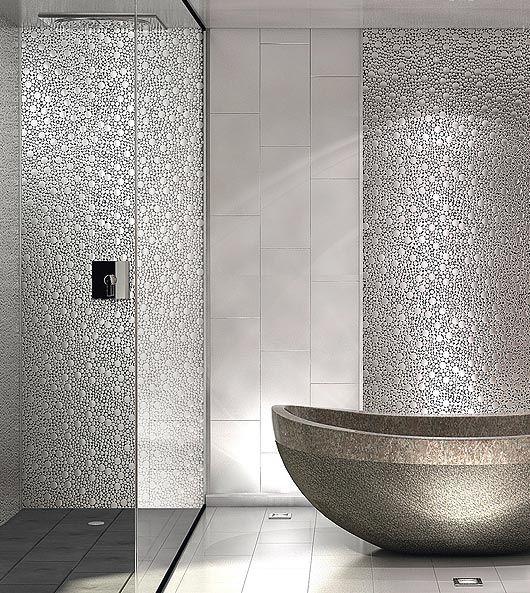 Carrelage faience salle de bain pinterest for Faience salle de bain contemporaine