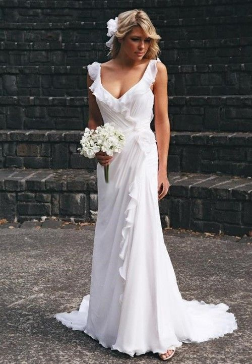 45 Beautiful And Relaxed Beach Wedding Dresses Weddingomania - Relaxed Wedding Dresses