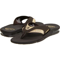 My favourite flip flops ever: Reef Fannings, with a key/credit card pocket in the heel.  #tiki no brainer.  Reef Fanning Luxe Charcoal/Silver/Glitter - Zappos.com