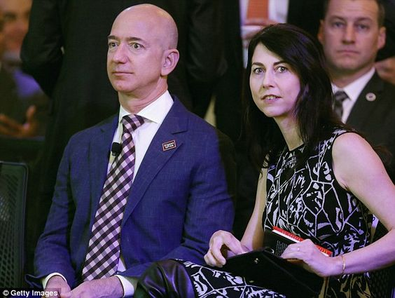 The amount will depend on how easy it will be for MacKenzie to acquire the shares of Amazon without diluting Jeff's control.