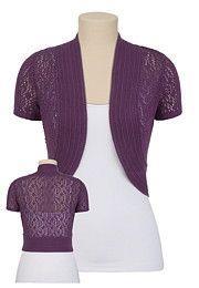 Bolero Sweater $26 at Maurices