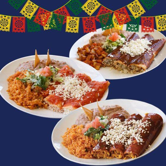 Come and celebrate with us Mexico's Independece Day! Our ENCHILADA plate is only $4.99! ¡Ven a celebrar con nosotros El Día de la Independencia!¡Nuestro plato de ENCHILADAS por sólo $4.99! #tacopalenque #discoverthewow http://discoverthewow.com/