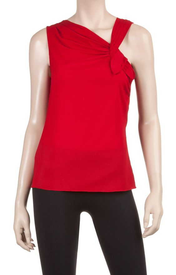 Asymmetrical Top | Designer Blouse Tops And Shirts - Max Studio