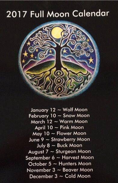 Full Moons of 2017 88f75d3f986ee391617b0cb9dc7c7bc6