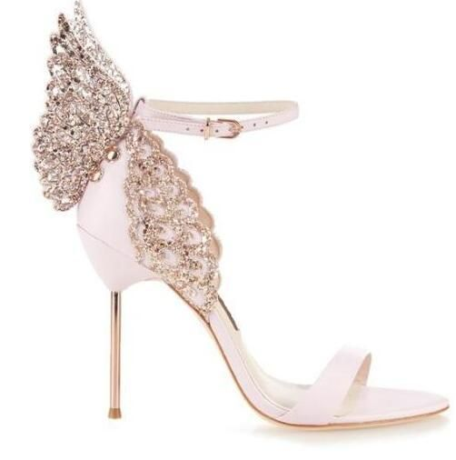 These Butterfly Bridal Shoes Are Absolutely Iconic Of Course They