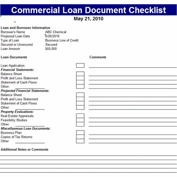 checklist template  commercial and templates on pinterest
