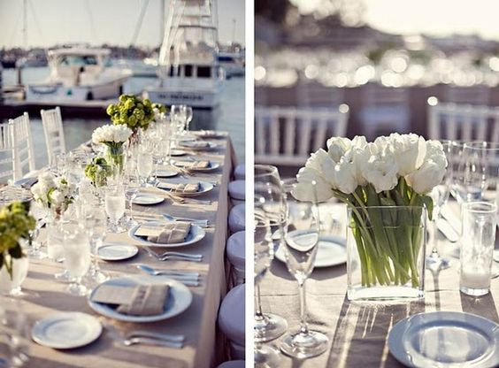Another Simple Elegant Table Love Bouquets Of All The