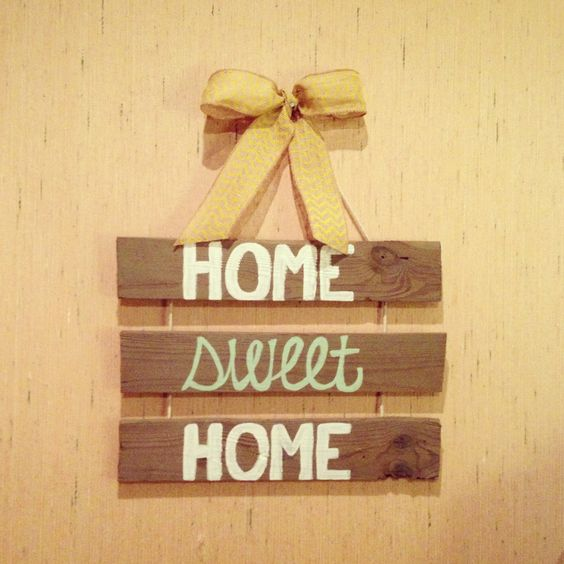 Wood craft ideas diy canvas diy crafts pinterest for Craft ideas from wood