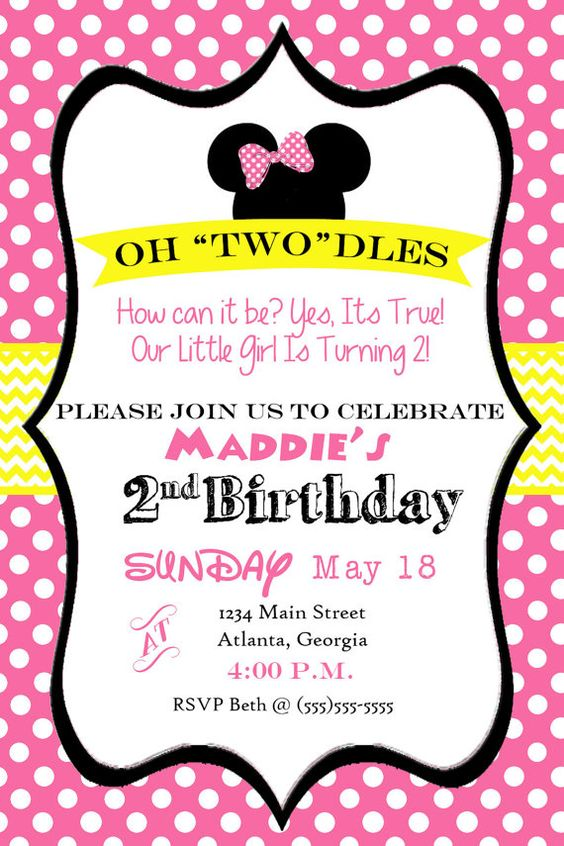 oh toodles minnie mouse 2nd birthday party by party time pinterest minnie mouse mice and birthdays