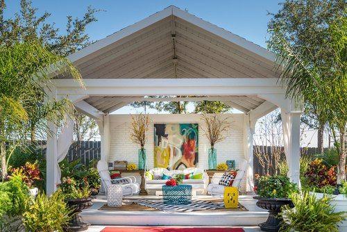 Premium Vinyl Pavilion Gabled Roof Vinyl Patio Covers Pergola Hot Tub Pergola