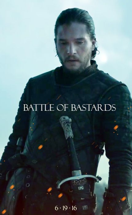 """Everyone is so excited for this, and I'm terrified. You guys know they don't love us enough to let Jon win, right? Right? Of course he's the better swordsman, and he's probably the """"ice"""" part of the story, but he's honorable and will fight fair. Ramsey is an asshole and will do something terrible to win this fight, just because GoT loves to hurt us. And Sansa will lose Jon four seconds after finding him again, and my heart cannot take it!"""