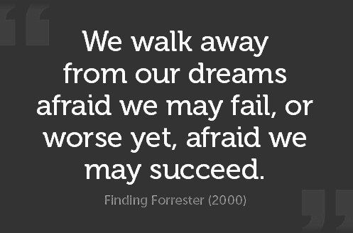 We Walk Away From Our Dreams Afraid We May Fail Or Worse Yet Afraid We May Succeed Finding Network Marketing Quotes Inspirational Quotes Marketing Quotes