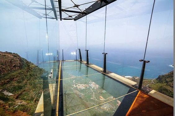 Mirador de Abrante tem cabine de vidro