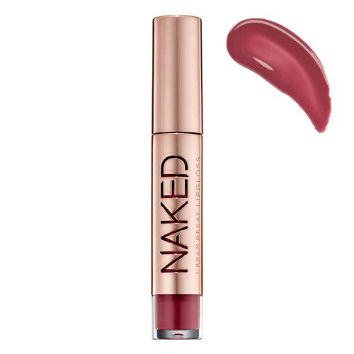 Urban Decay Naked Lip Gloss beso. Can't wait to get through a couple more lip glosses before purchasing this one