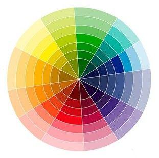 Como combinar cores?