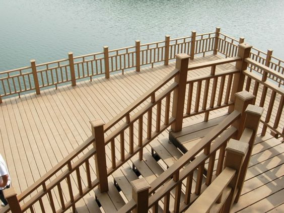 wpc outdoor stair rail