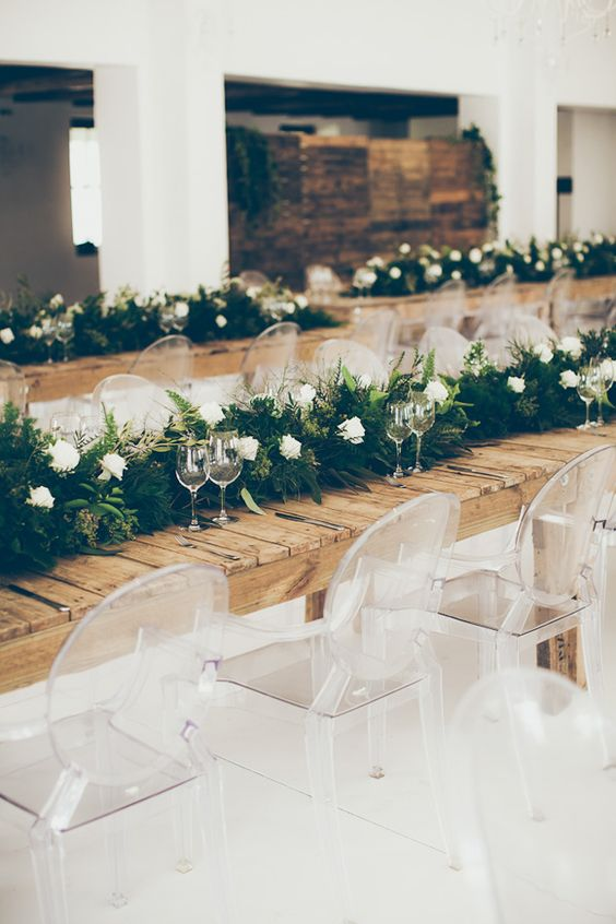 Contemporary Green & White Wedding by Fiona Clair | SouthBound Bride