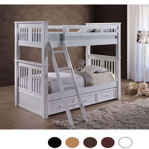 Gary Xl Extra Long Twin Bunk Bed Twin Bunk Beds Bunk Beds Modern Bunk Beds