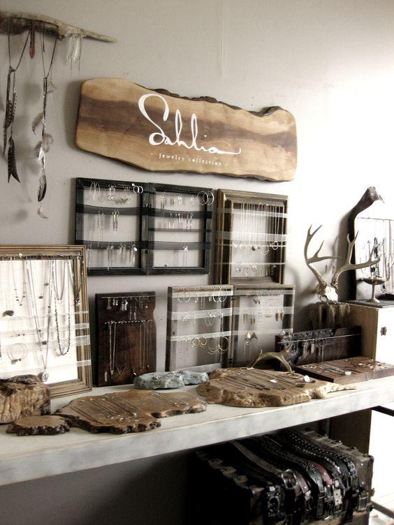 frames for jewelry display Sahlia Jewelry studio