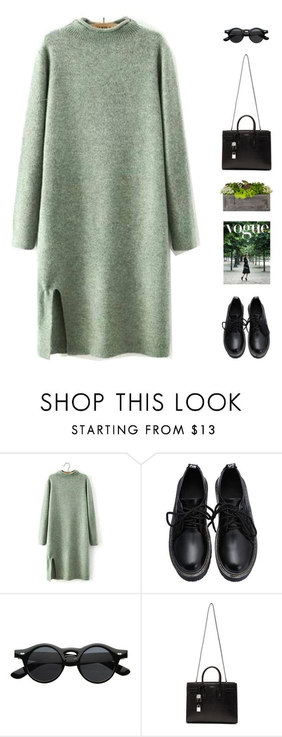 """Miike Snow - Genghis Khan"" by intanology ❤ liked on Polyvore featuring Yves Saint Laurent and Jayson Home"
