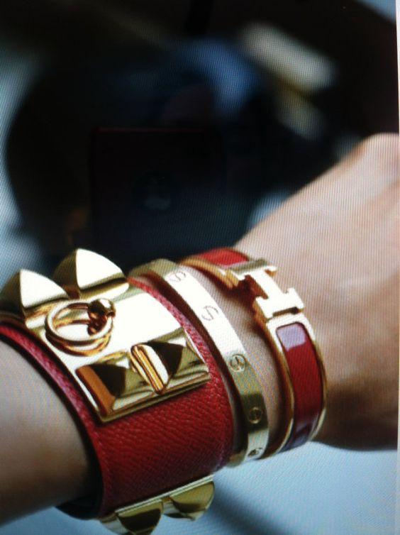 faux hermes bracelet