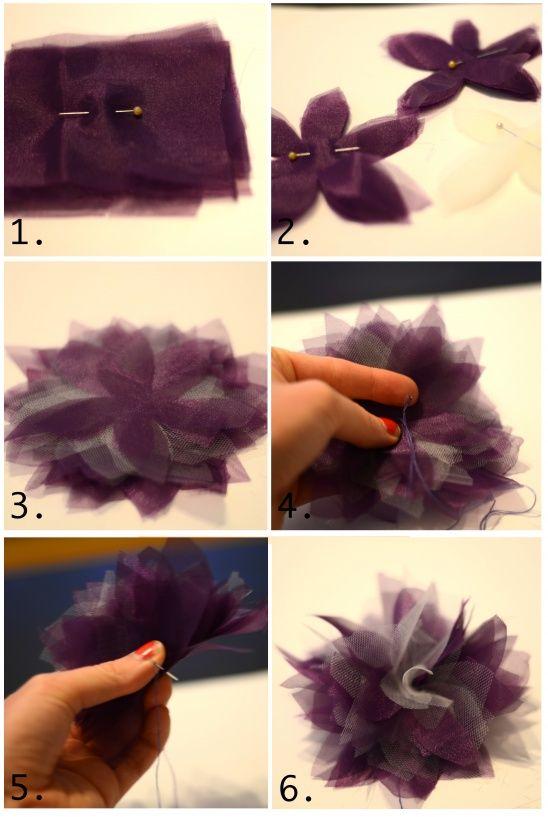 DIY Floral Headband w/ Handsewn Flower by CarolynM | Project | Sewing / Accessories | Kollabora