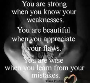 You are strong when you know your weaknesses...  #inspiration #motivation #wisdom #quote #quotes #life