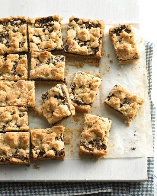 Fig Crumble Bars Recipe