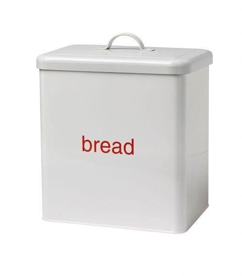 Enamel Bread Bin - New style enamel Bread Bin in off white now with ...