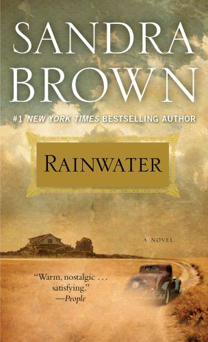 Rainwater by Sandra Brown is a poignant, atypical love story set in Texas in the Depression Era. This is a fast read, deceptively simple, but stayed with me long after the last page.