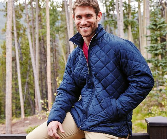 Southern Marsh Collection — The Marshall Quilted Jacket