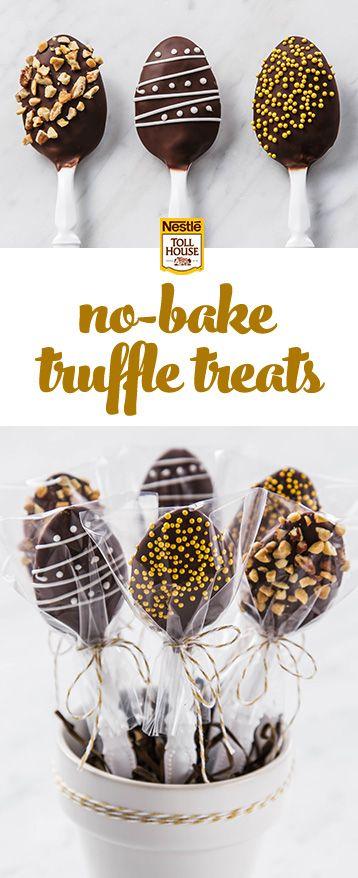 Easy Truffle Recipe Chocolate And Roses Truffle Spoons Recipe ...