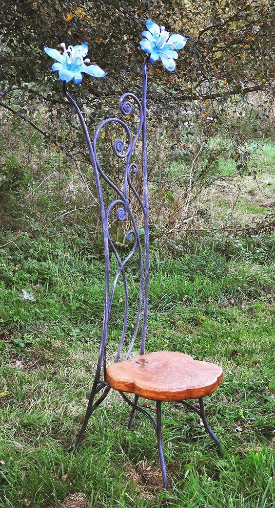 metal furniture, garden art and sculptures on pinterest,