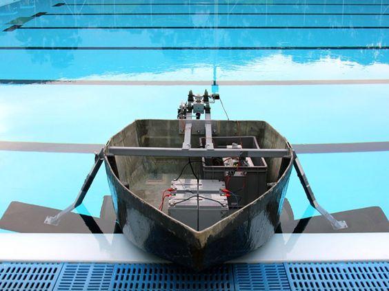 El primer hidrodeslizador hecho en Colombia.