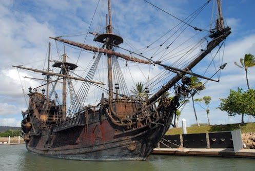 Blackbeard was a real pirate, and his ship Queen Anne's Revenge was found off the coast of North Carolina in 1996. Archaeologists have recovered more than a dozen cannons from the wreckage, along with gun flints, shackles, and other pirate-y artifacts.