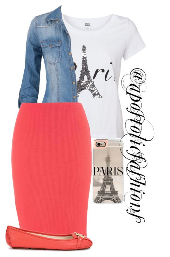 """""""Apostolic Fashions #1212"""" by apostolicfashions on Polyvore featuring Vero Moda, maurices, Michael Kors and Casetify"""