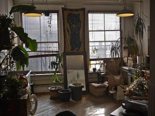 Patrik Ervell S Studio Ideal Living Decor Home Decor Inspiration Soho Apartment