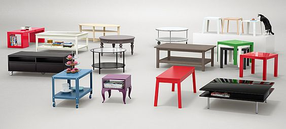 שולחן סלון   IKEA