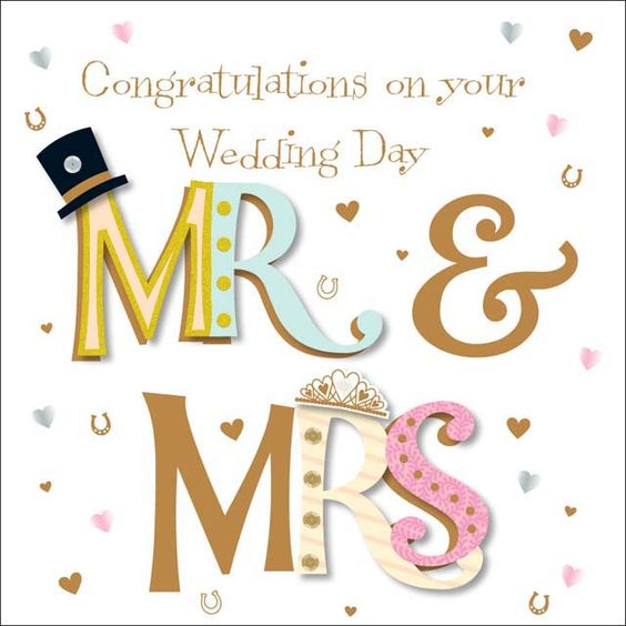 Congrats On Your Wedding Day | More Than Words – Congratulations on your Wedding Day | The Aird ...