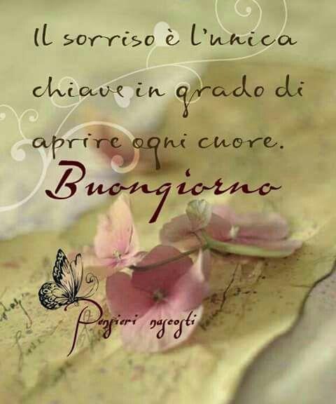 Il sorriso buongiorno buongiorno pinterest - Gute besserung italienisch ...