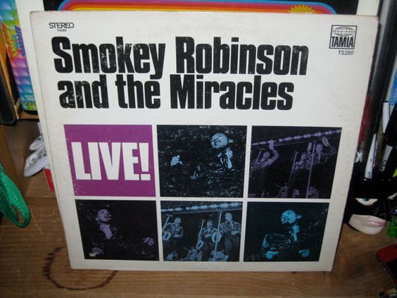 Smokey Robinson and the Miracles live 1968 by HANNIBALSTOYSNMORE, $9.00