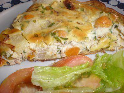 Quiche de frango - http://www.receitassimples.pt/quiche-de-frango/